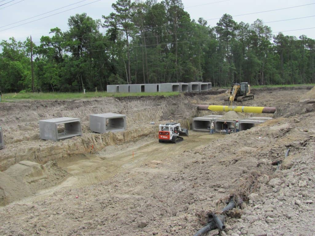 g w phillips construction inc flood control