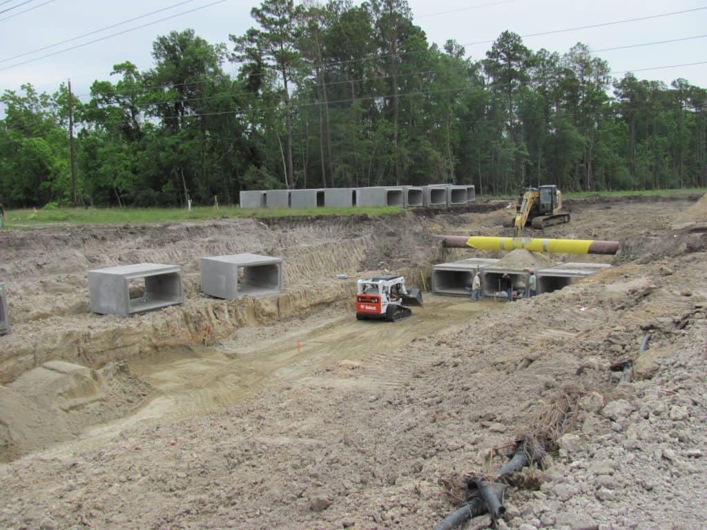 g w phillips construction inc flood control